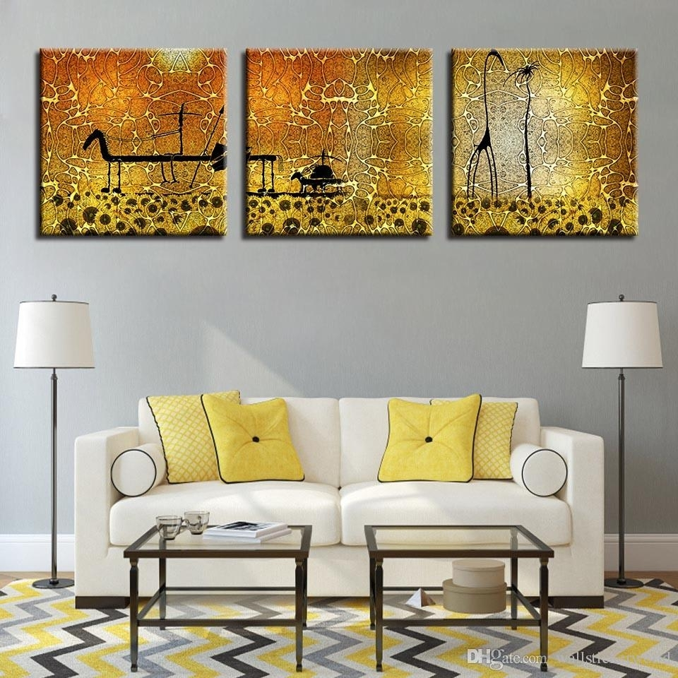 2018 Canvas Hd Prints Pictures Frame Living Room Home Decor Regarding Most Current Living Room Wall Art (View 1 of 15)