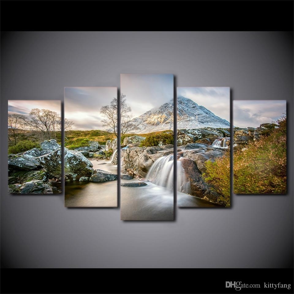 2018 Framed Hd Printed Summer Nature Canvas Painting Wall Art Prints With Regard To Most Up To Date Nature Wall Art (Gallery 2 of 20)