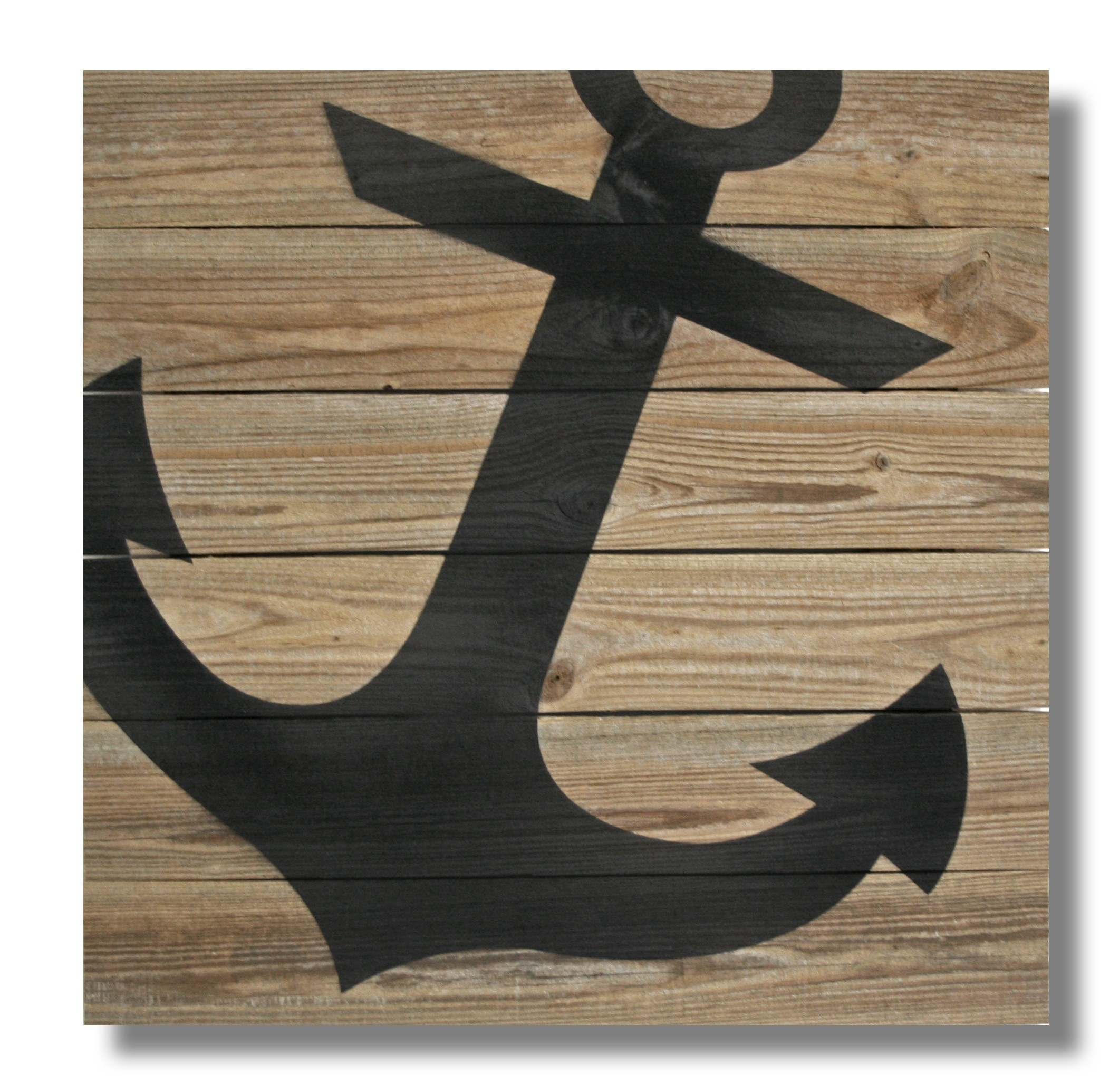 "22"" X 22"" Repurposed Wood Anchor Wall Art – (Rcs Xl Anch) – Xl (22 Regarding Most Popular Anchor Wall Art (View 1 of 20)"