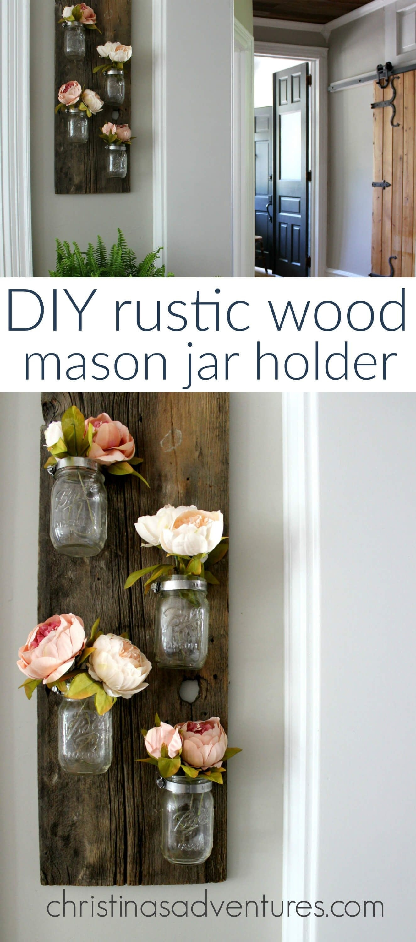 24 Enchanting Mason Jar Wall Decor Ideas To Brighten Your Walls Within Most Current Mason Jar Wall Art (Gallery 10 of 20)