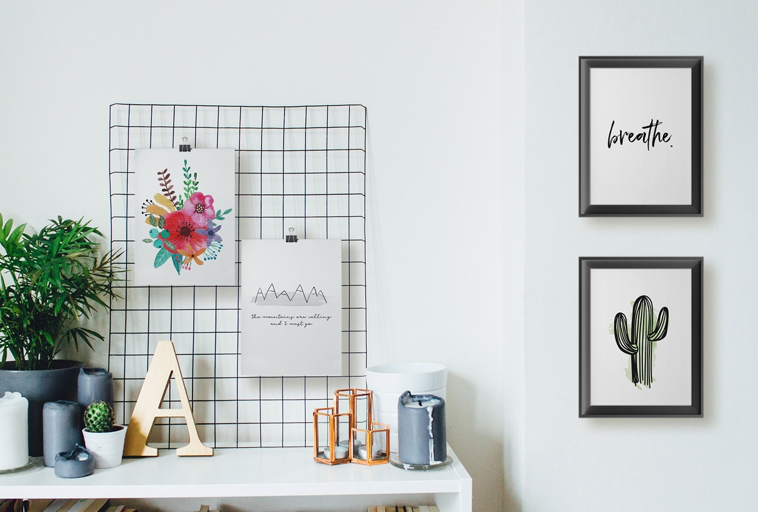 25 Unique Diy Wall Art Ideas (With Printables) | Shutterfly For Recent Wall Art Diy (View 3 of 20)