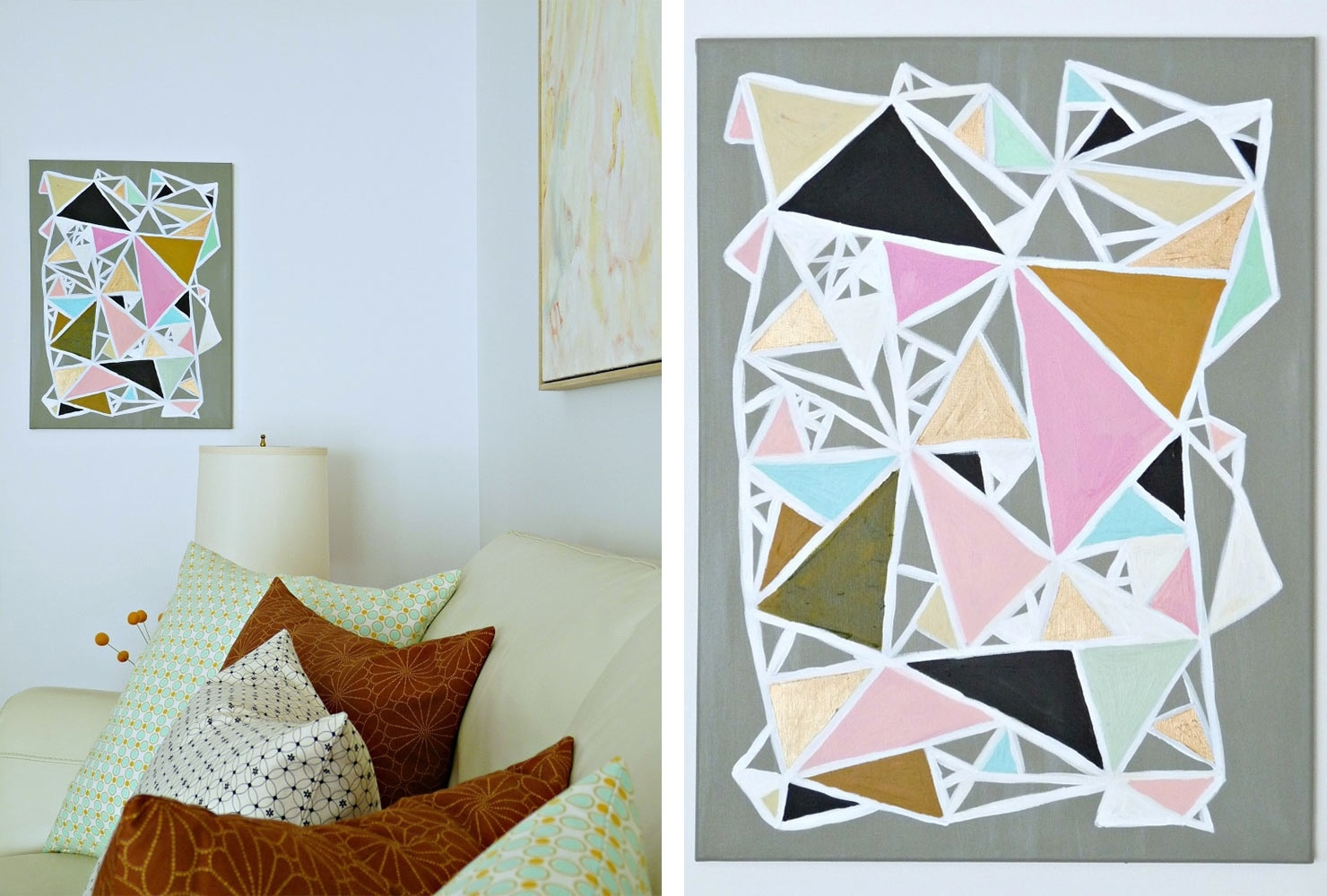 25 Unique Diy Wall Art Ideas (With Printables) | Shutterfly With Regard To Most Recent Diy Wall Art (View 3 of 15)