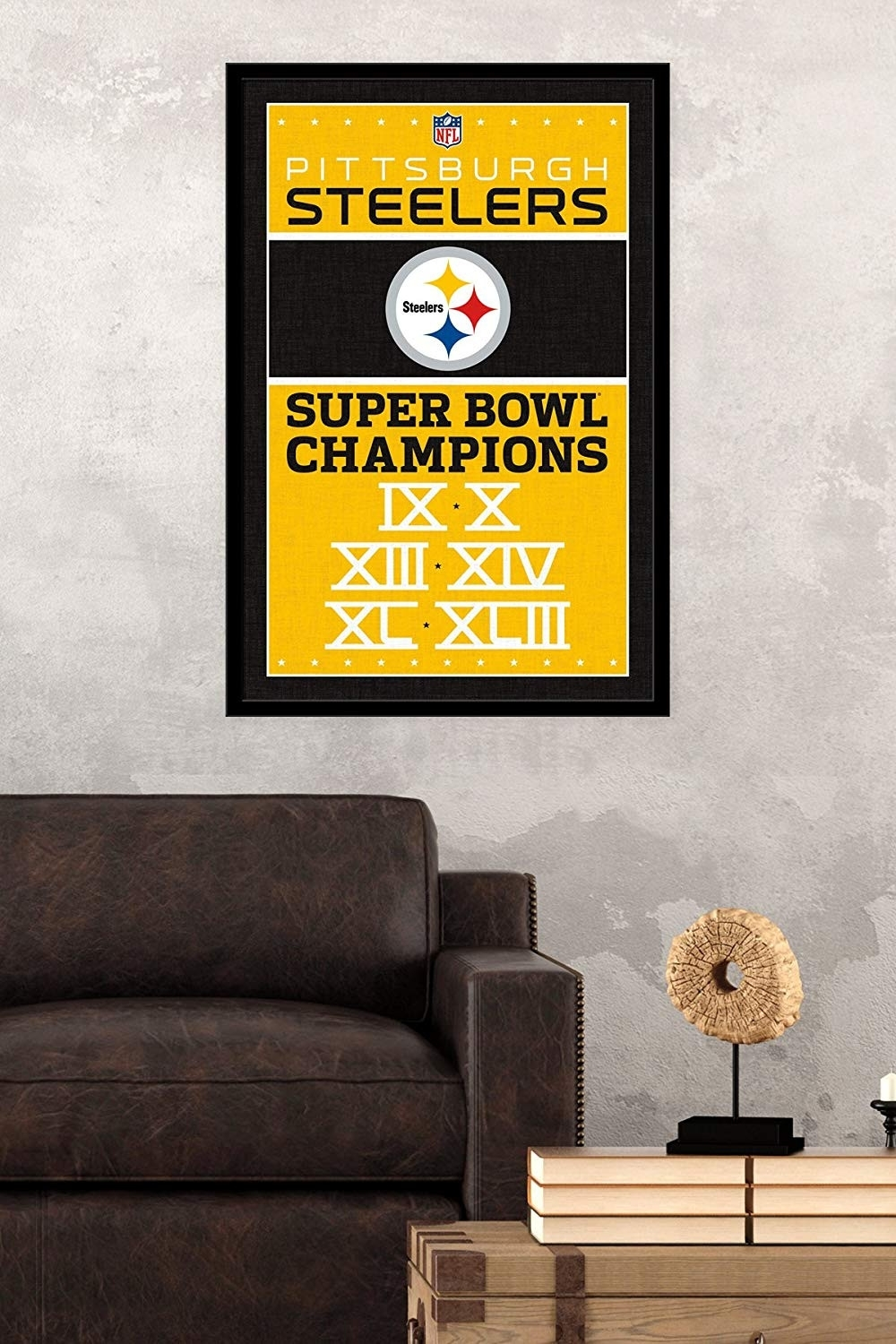 25 Unique Pittsburgh Steelers Wall Art | Mehrgallery With Regard To Most Popular Nfl Wall Art (View 2 of 15)