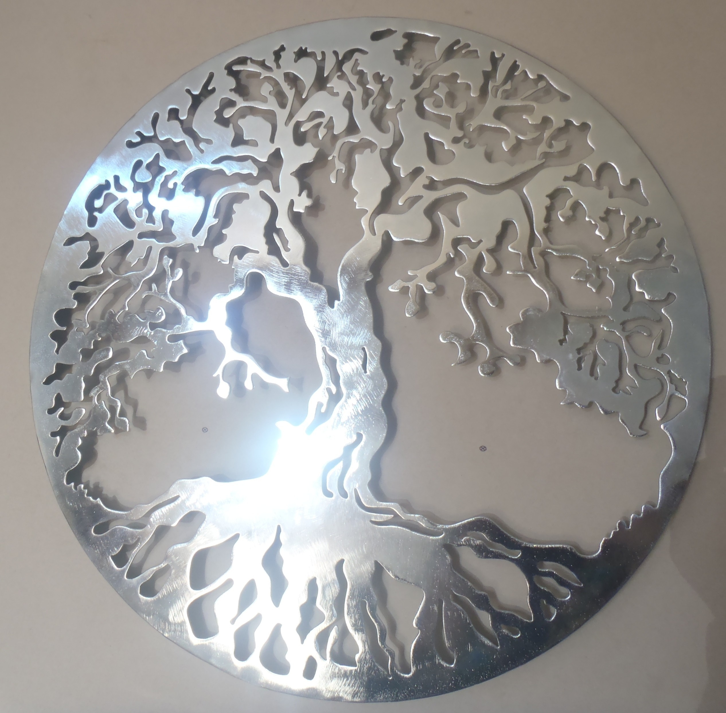 28 Silver Metal Wall Art, Wall Art Ideas Design : Abstract Pattern Intended For Current Silver Wall Art (View 1 of 20)