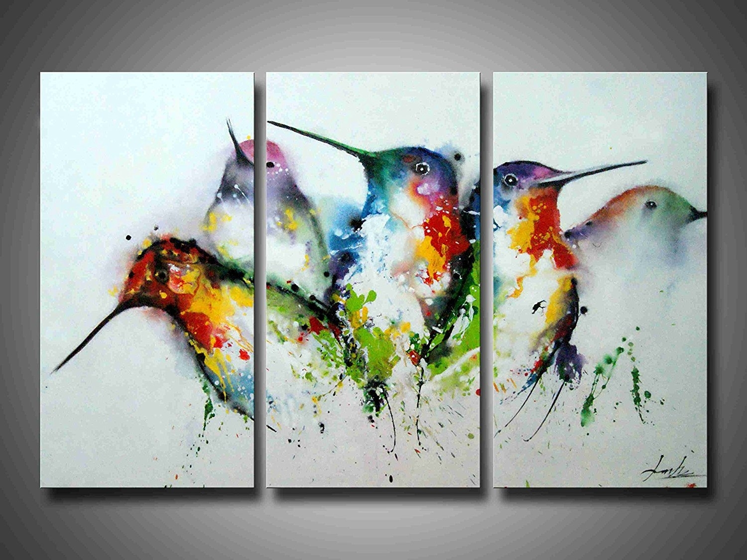 3 Piece Framed Wall Art Bird : Andrews Living Arts – Affordable 3 Inside Best And Newest Bird Framed Canvas Wall Art (View 4 of 20)