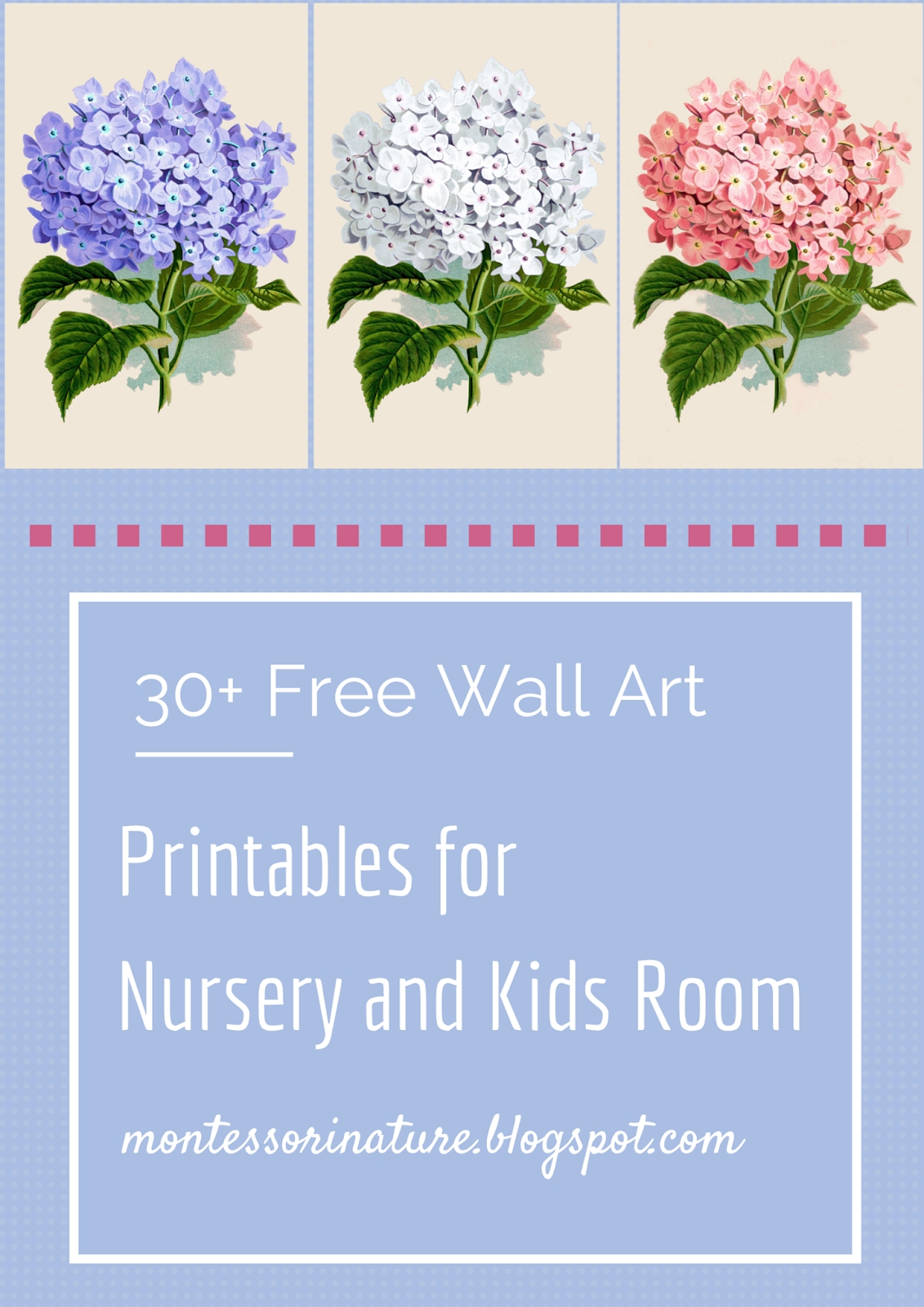 30+ Free Wall Art Printables For Nursery And Kids Room (View 17 of 20)