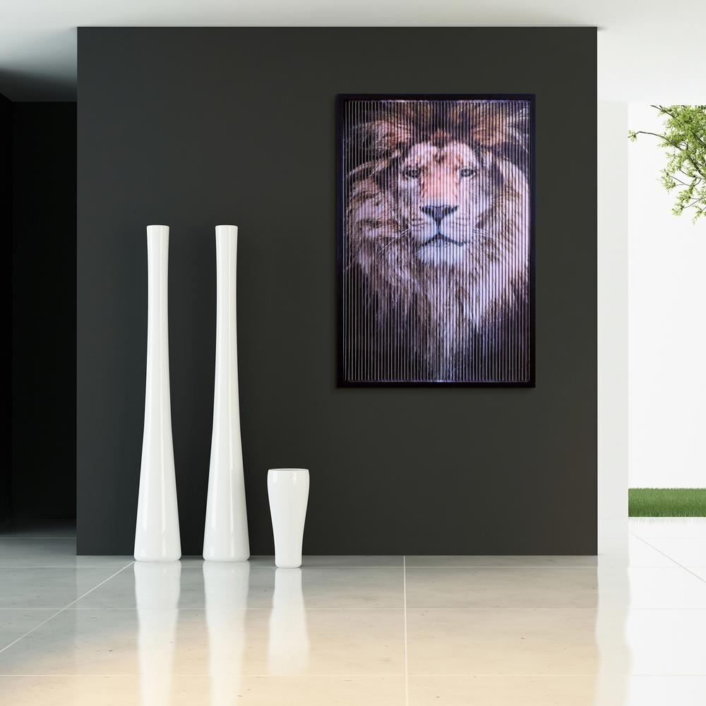 "32 In. X 47 In. ""boss"" Dimensional Kinetic Wall Art Kin Ead3782B For Latest Kinetic Wall Art (Gallery 16 of 20)"