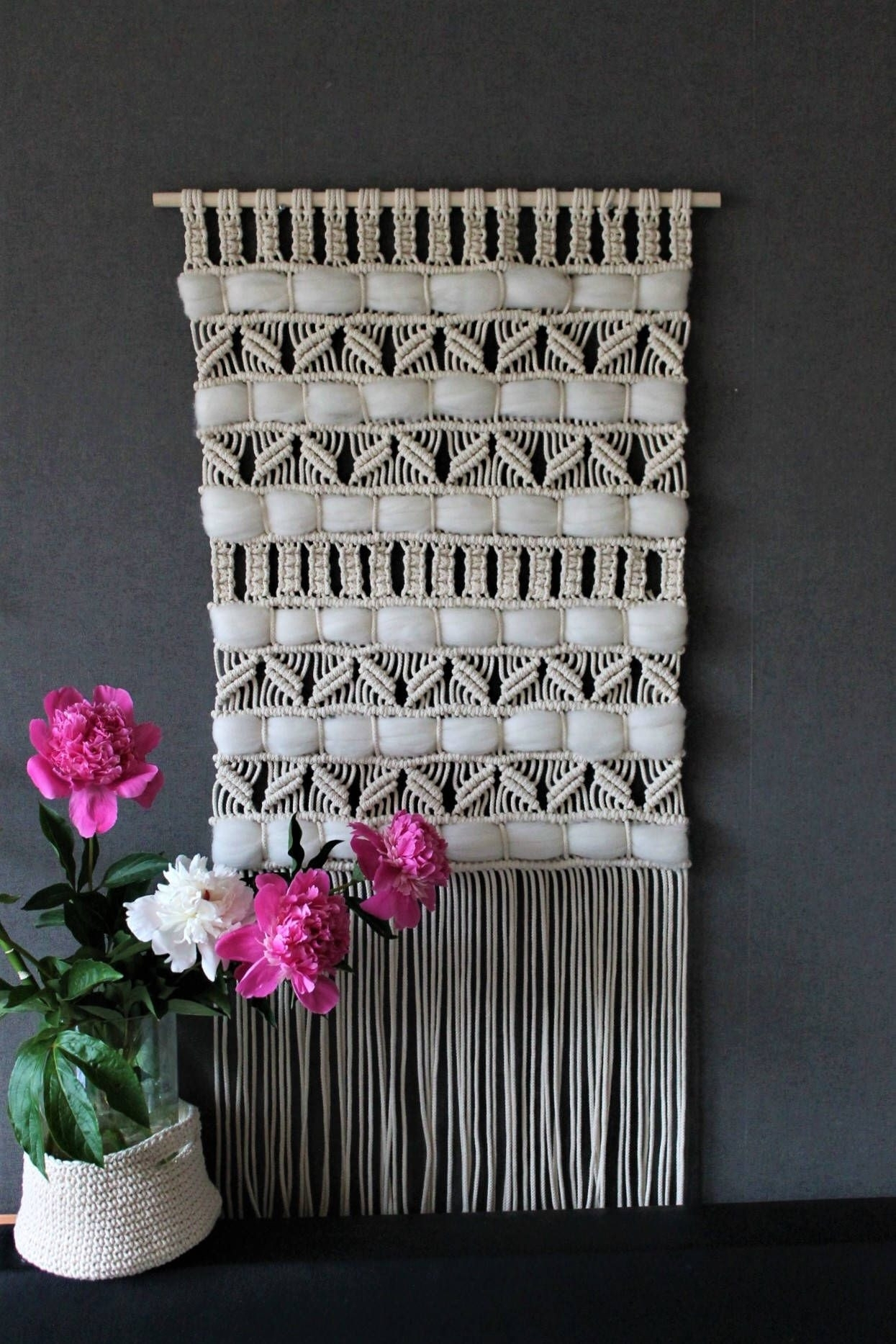 33 Elegant Crochet Wall Art | Wall Art Decorative with Recent Crochet Wall Art