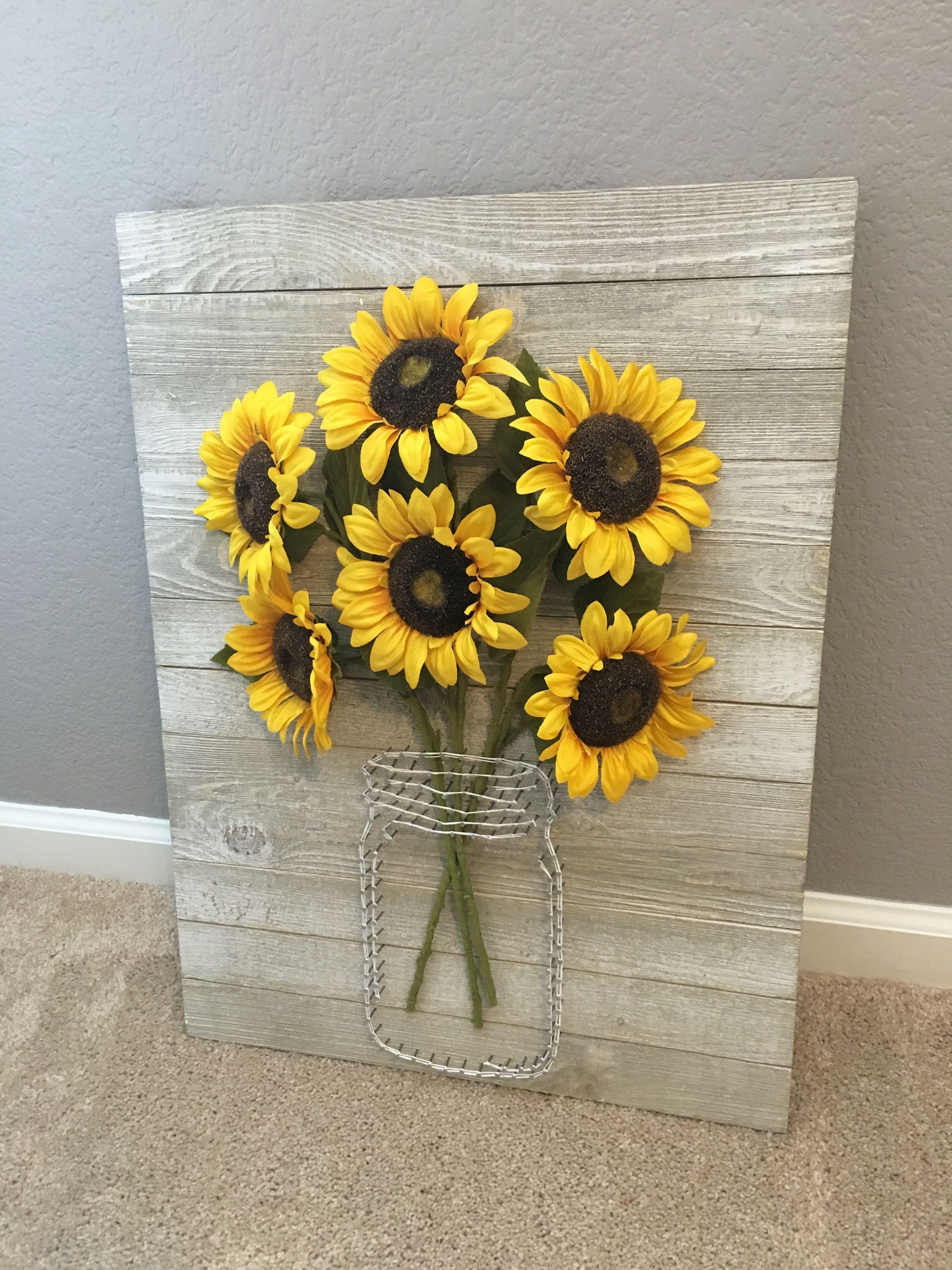 35 Inspirational Sunflower Wall Art | Wall Art Decorative In Most Current Sunflower Wall Art (Gallery 8 of 20)