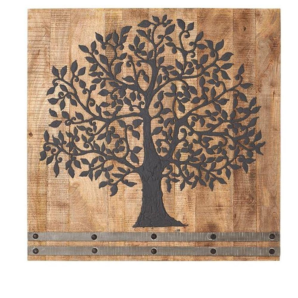 36 In. H X 36 In. W Arbor Tree Of Life Wall Art-1470300210 - The inside Current Tree Of Life Wall Art