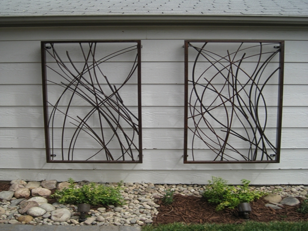 37 Large Outdoor Wall Art, Outdoor Metal Sun Wall Art : Into The With Regard To 2018 Large Outdoor Wall Art (View 16 of 20)