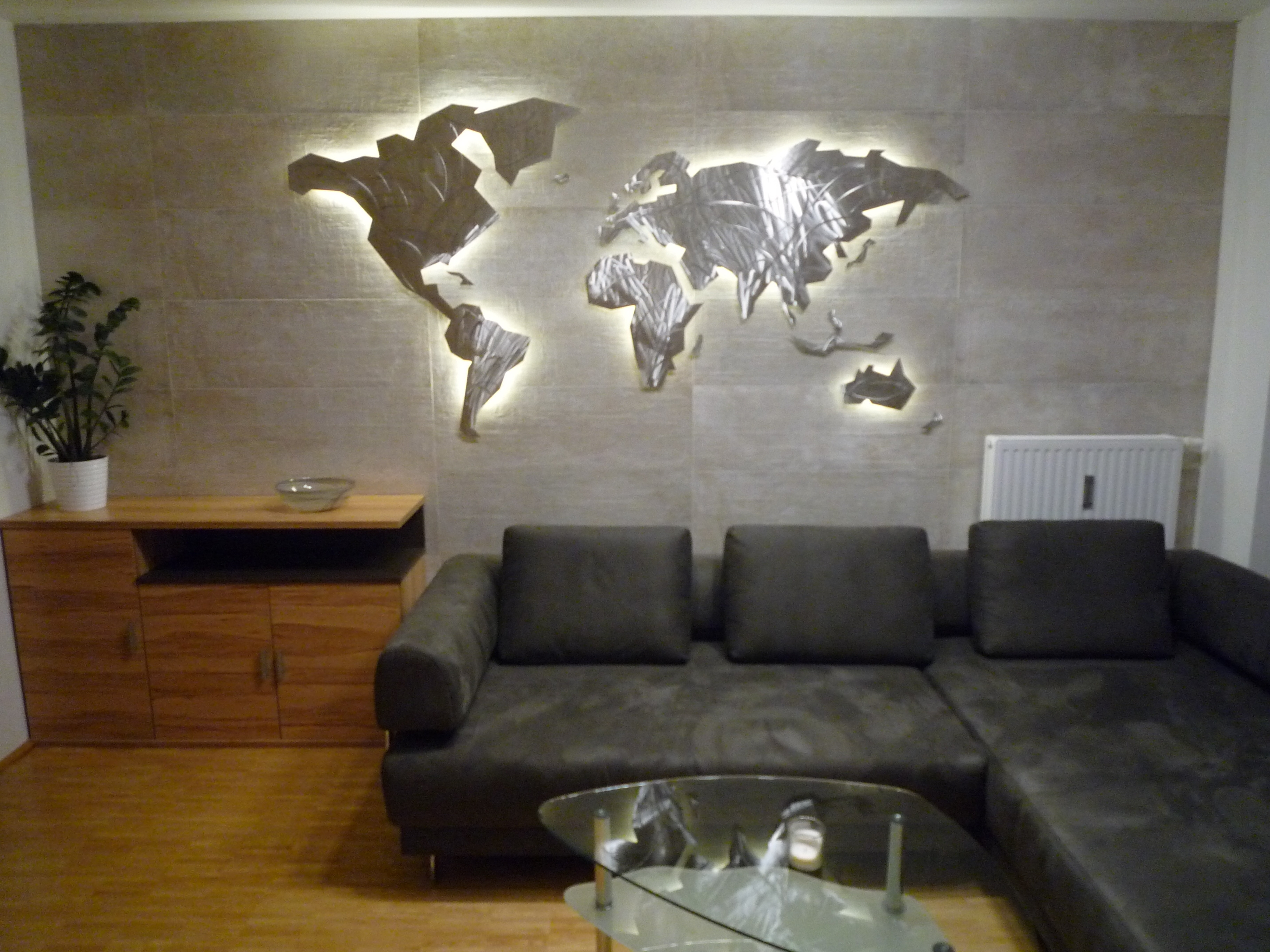 39 Inspirational World Map Wall Art Framed Design Ideas Of Led Wall Intended For Newest Wall Art Map Of World (View 14 of 20)