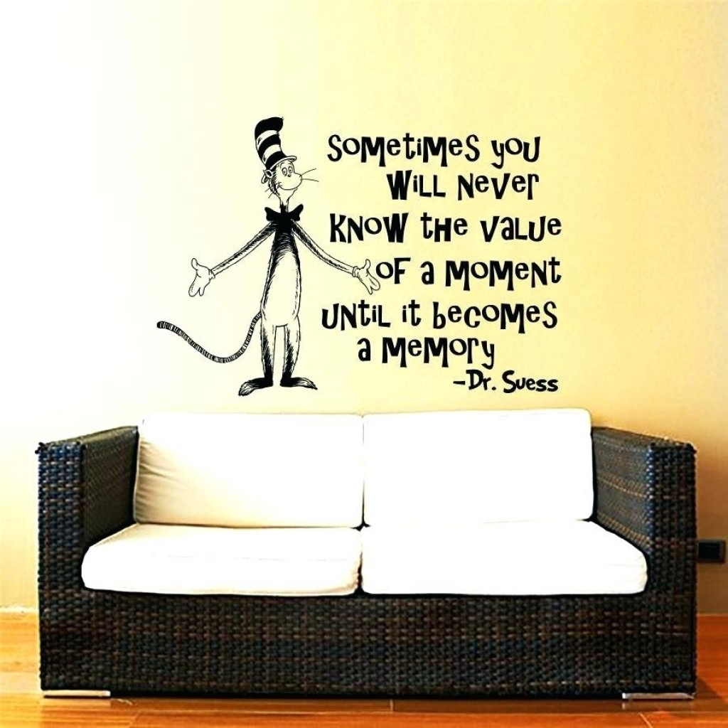 39 Lovely Dr Seuss Wall Stickers | Home Art Site With Regard To 2018 Dr Seuss Wall Art (Gallery 7 of 20)