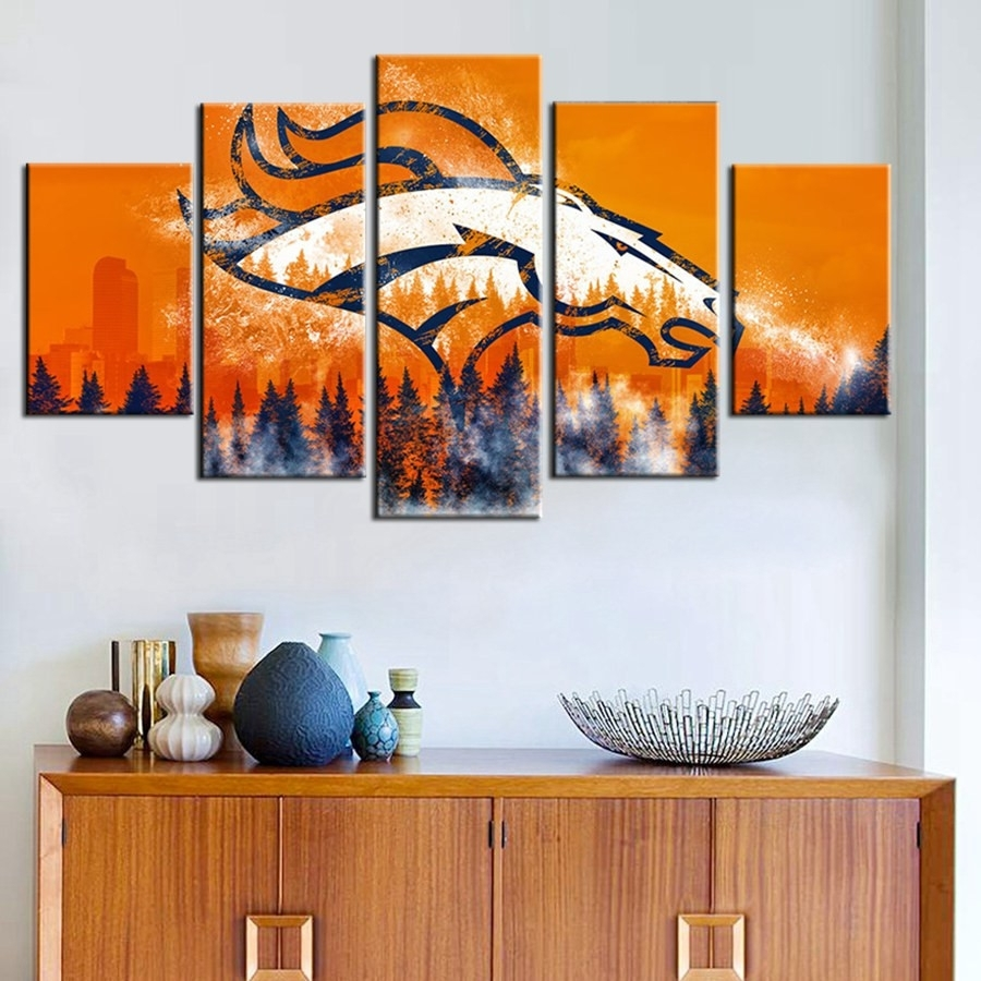 39 Unique Broncos Wall Art | Wall Art Decorative With Regard To 2017 Broncos Wall Art (View 2 of 20)