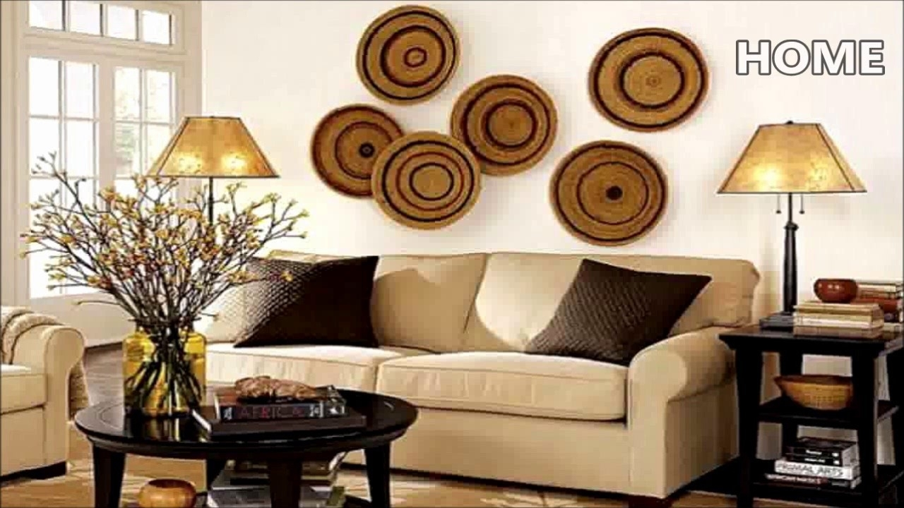 43 Living Room Wall Decor Ideas – Youtube In 2017 Living Room Wall Art (Gallery 4 of 15)