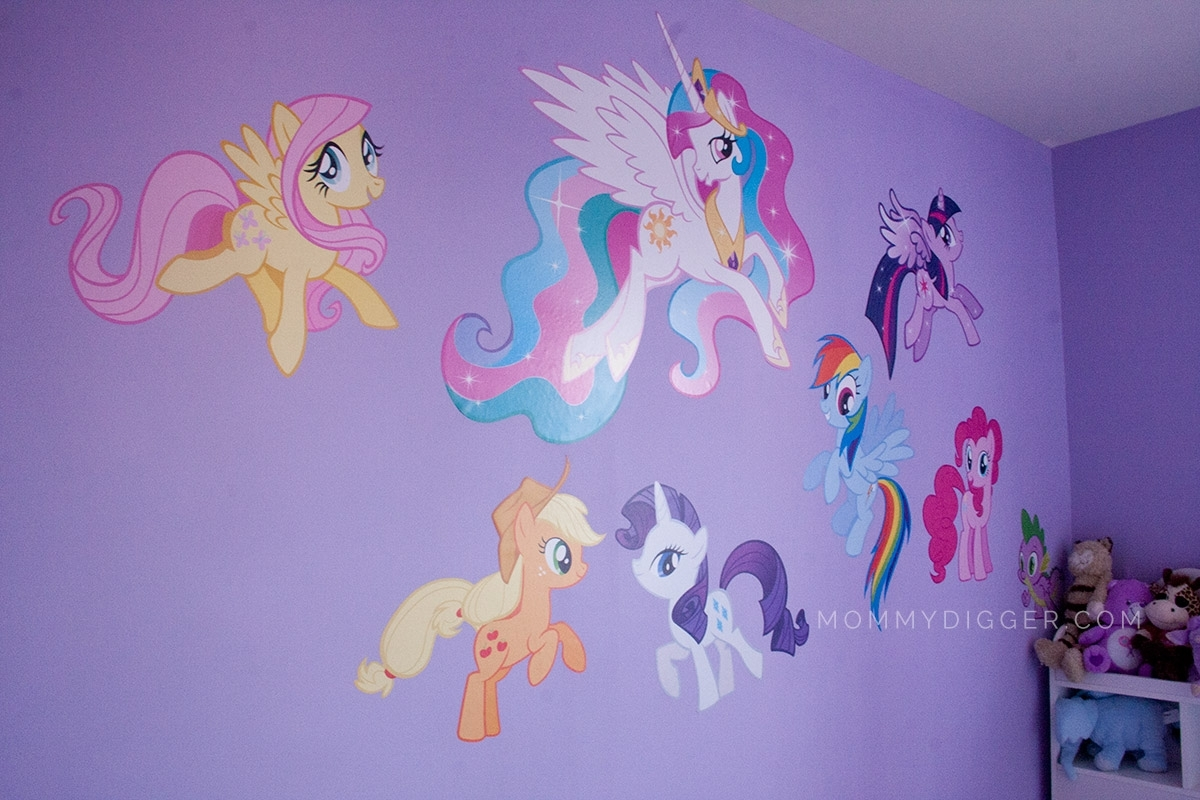 44 My Little Pony Wall Art, Wall Stickers My Little Pony Kamos With Regard To Most Up To Date My Little Pony Wall Art (View 2 of 20)