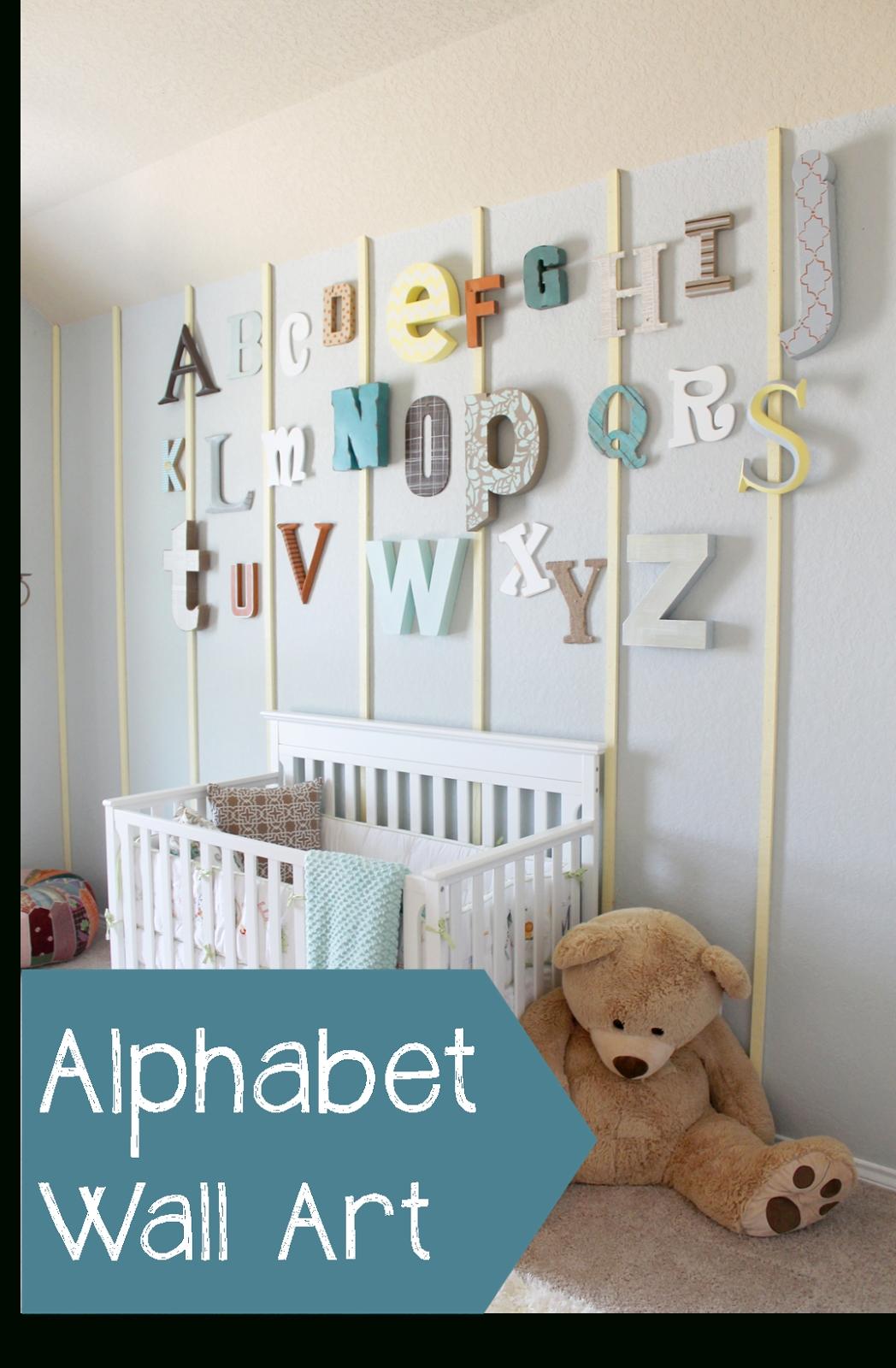 45 Alphabet Wall Art, Photo Alphabet Wall Art Best Of Alphabet Tree With Most Recent Alphabet Wall Art (View 8 of 20)