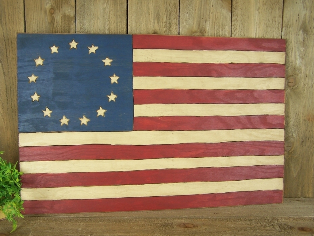 51 Wooden American Flag Wall Art Wooden Walls Regarding Painted Flag Regarding Most Up To Date Wooden American Flag Wall Art (View 2 of 20)