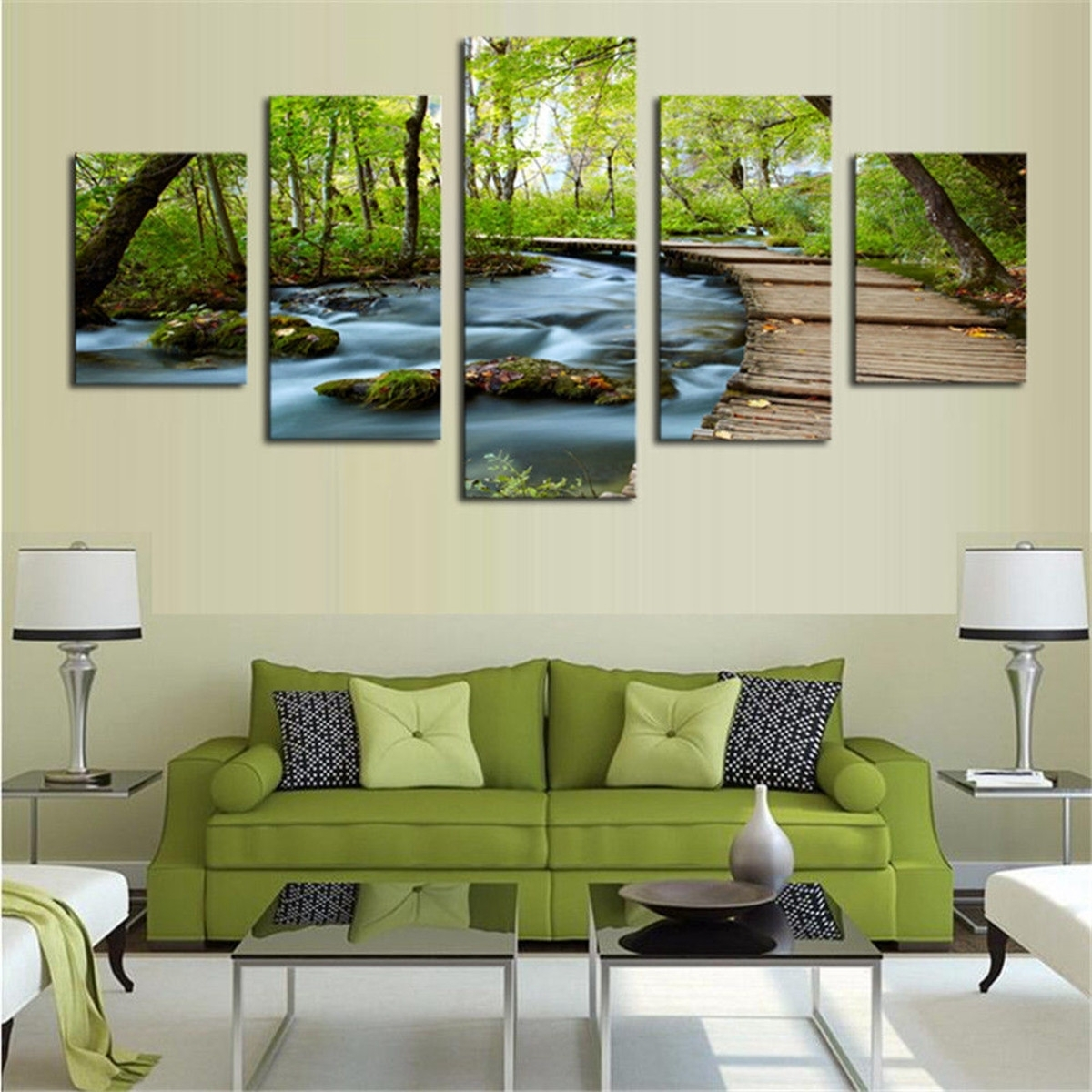 5Pcs Modern Canvas Print Painting Nature Picture Wall Art Home Decor In 2017 Nature Wall Art (View 7 of 20)