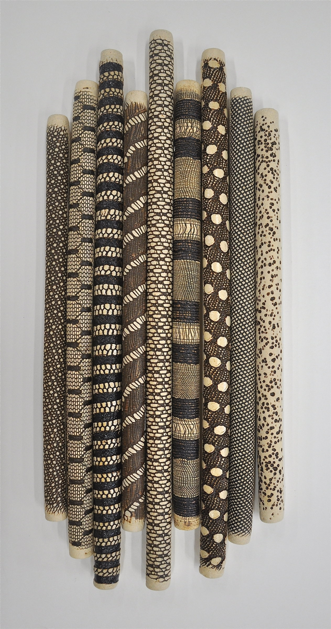 9 Piece Installationkelly Jean Ohl (Ceramic Wall Sculpture Regarding Most Recent Ceramic Wall Art (Gallery 1 of 20)