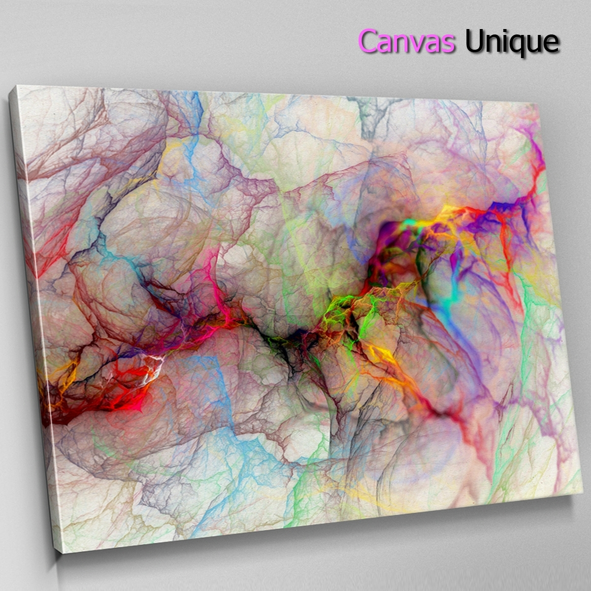 Ab1297 Orange Red Modern Line Art Abstract Wall Art Picture Large Throughout Most Popular Modern Large Canvas Wall Art (View 9 of 20)