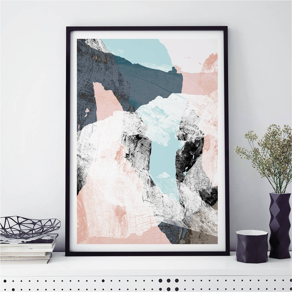 Abstract Art Prints Minimalist Wall Art Printbronagh Kennedy With Most Recent Wall Art Prints (View 5 of 20)