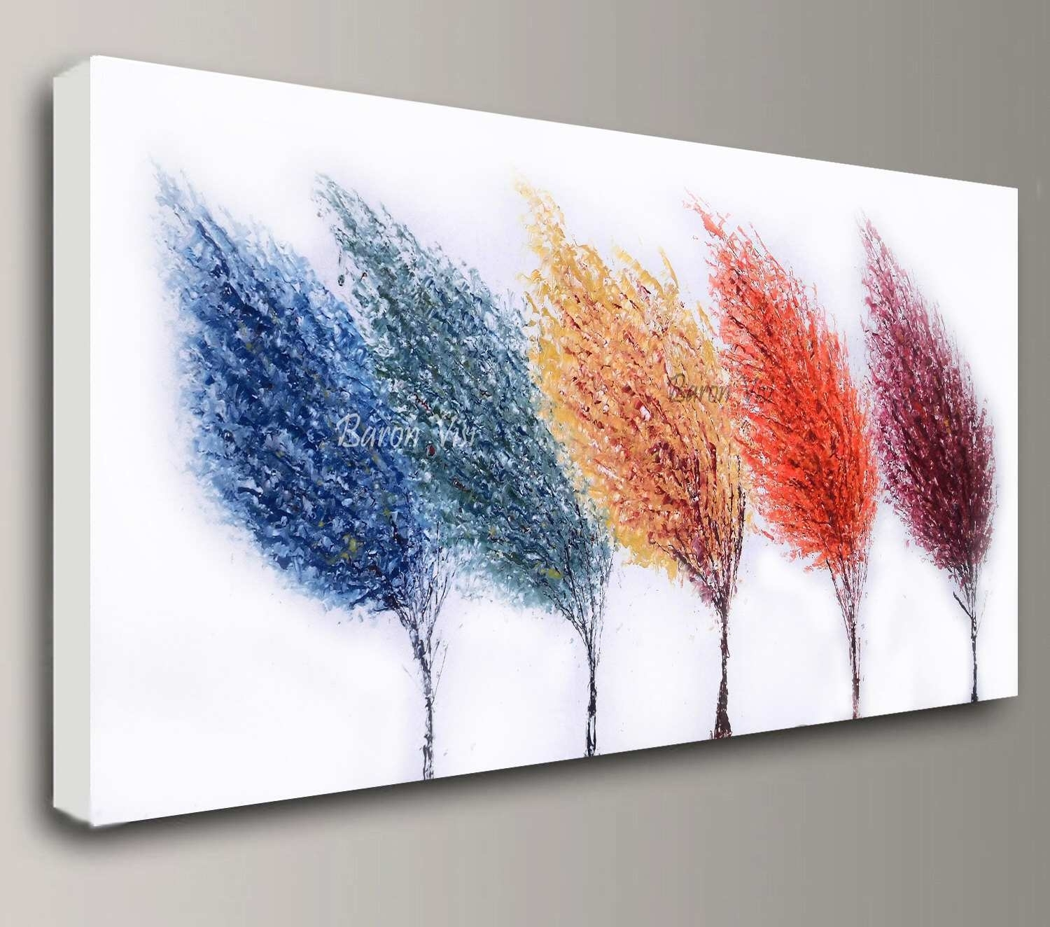Abstract Canvas Wall Art Best Of Abstract Painting Acrylic Painting Intended For Current Acrylic Wall Art (View 18 of 20)
