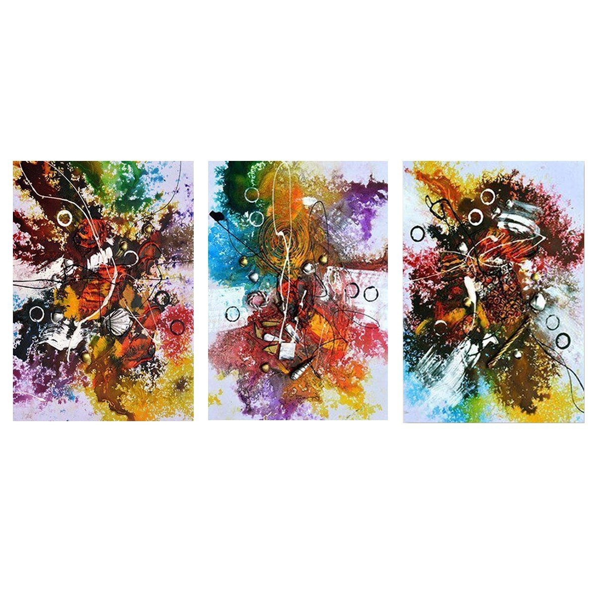 Abstract Modern Oil Paintings Canvas Wall Art Printed Pictures Home Intended For Current Modern Painting Canvas Wall Art (View 8 of 20)