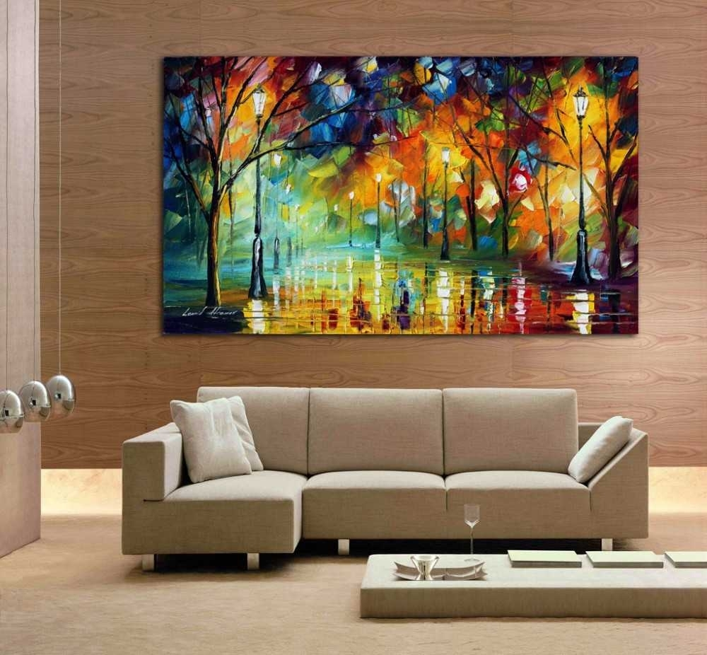 Abstract Wall Art Paint Andrews Living Arts Awesome Room With – Mc Pertaining To Most Up To Date Living Room Painting Wall Art (View 6 of 20)