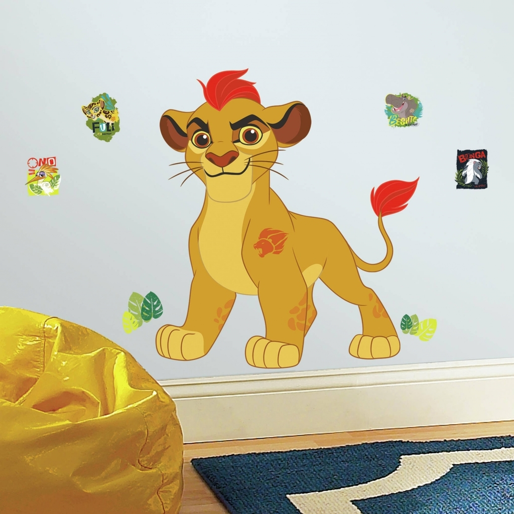 Accessories: Lion King Wall Art Superb Roommates Lion Guard Kion With Most Recently Released Lion King Wall Art (View 14 of 20)