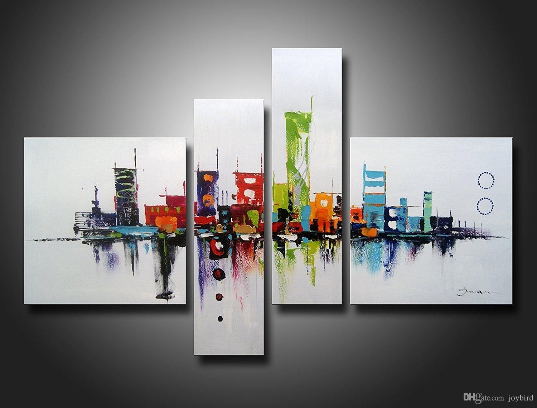 Acheter Modern Artwok Wall Art Decor Résumé Peinture À L'huile Regarding 2017 Modern Wall Art Decors (View 5 of 20)