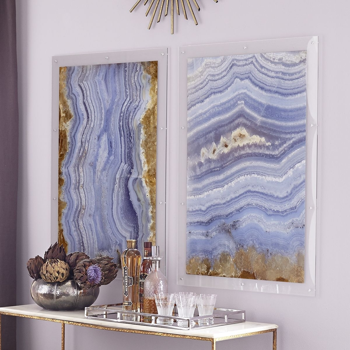 Agate Wall Art – Calabasas | Agate, Walls And Neutral Walls In Most Recent Agate Wall Art (View 5 of 20)