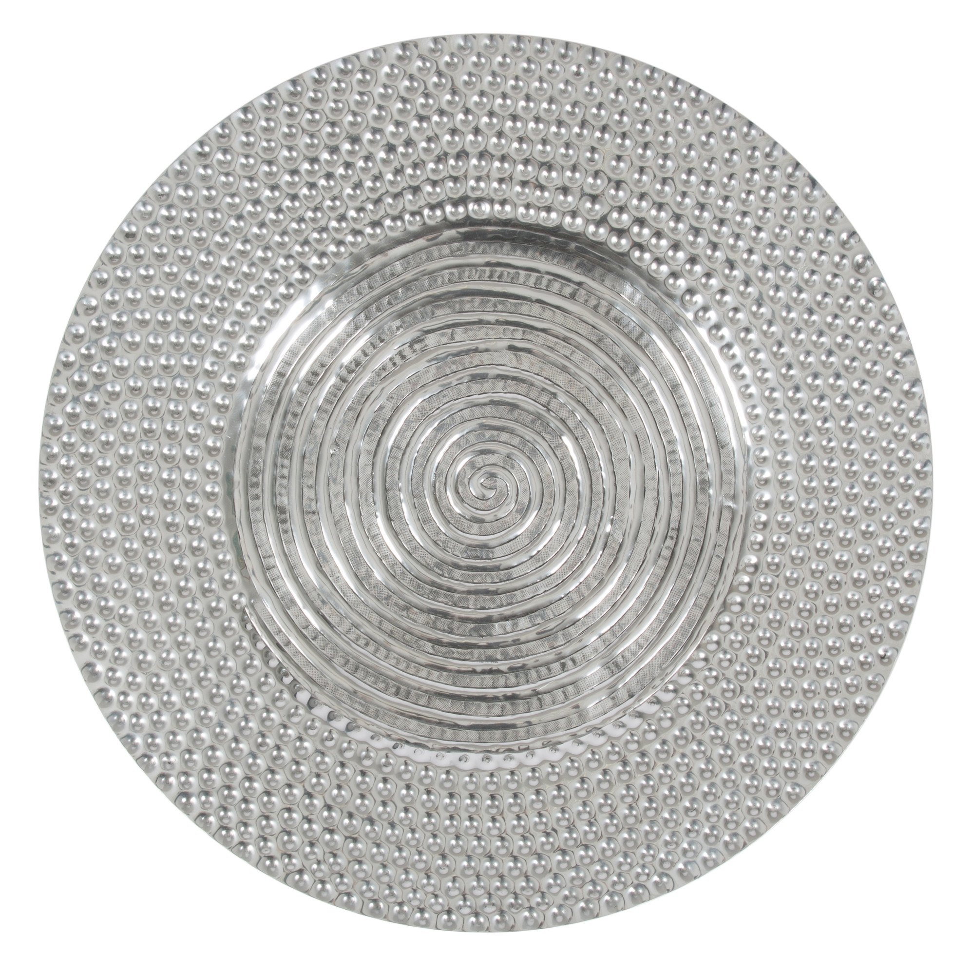 Aluminium Antique Round Wall Art | Temple & Webster Intended For Most Popular Round Wall Art (View 1 of 20)