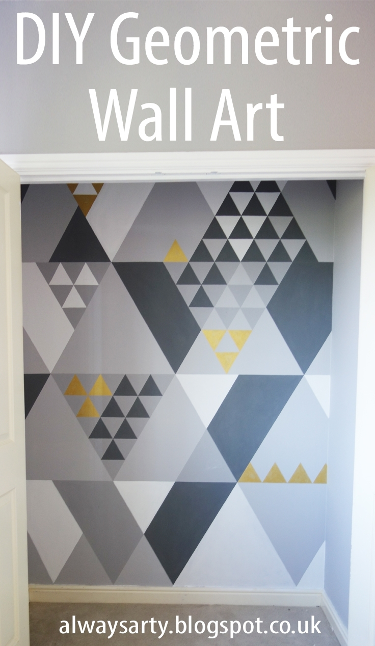 Always Arty: Geometric Wall Art With Newest Geometric Wall Art (View 3 of 20)