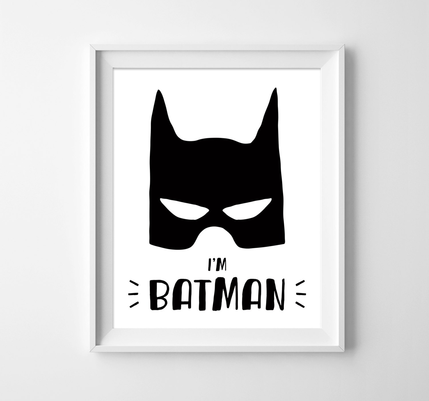 Amazing Dc Comics Wall Art Batman Decor Superhero Poster Nerdy Pic Within Best And Newest Batman Wall Art (View 3 of 20)