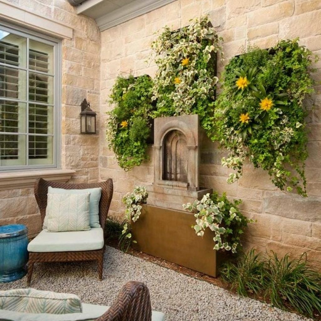 Amazing Outdoor Patio Wall Decor Ideas U Pic For Decorations And With Regard To 2018 Outdoor Wall Art Decors (View 10 of 20)