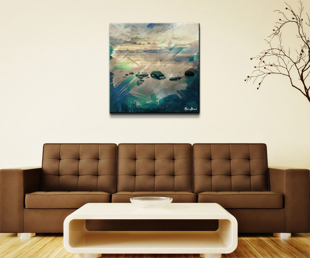 Antique Room Abstract Canvas Oversizedoversized Wall Art Abstract Intended For Latest Long Canvas Wall Art (View 10 of 20)