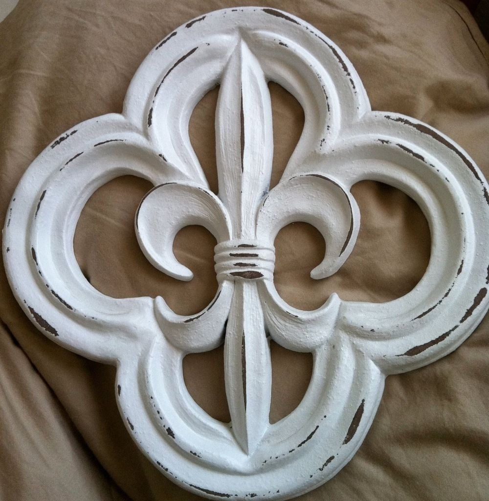 Appealing Fleur De Lis Wall Art Black Home Design Ideas Of Decor Throughout 2017 Fleur De Lis Wall Art (View 4 of 20)