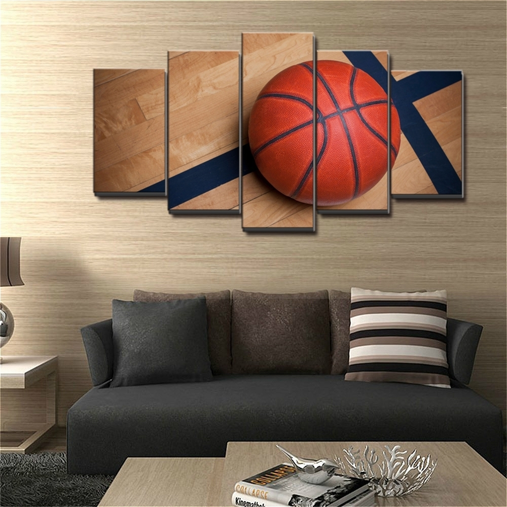 Art Boys Bedroom Canvas Wall Basketball Sports Decor Kids Room Our With Regard To 2018 Basketball Wall Art (View 6 of 15)