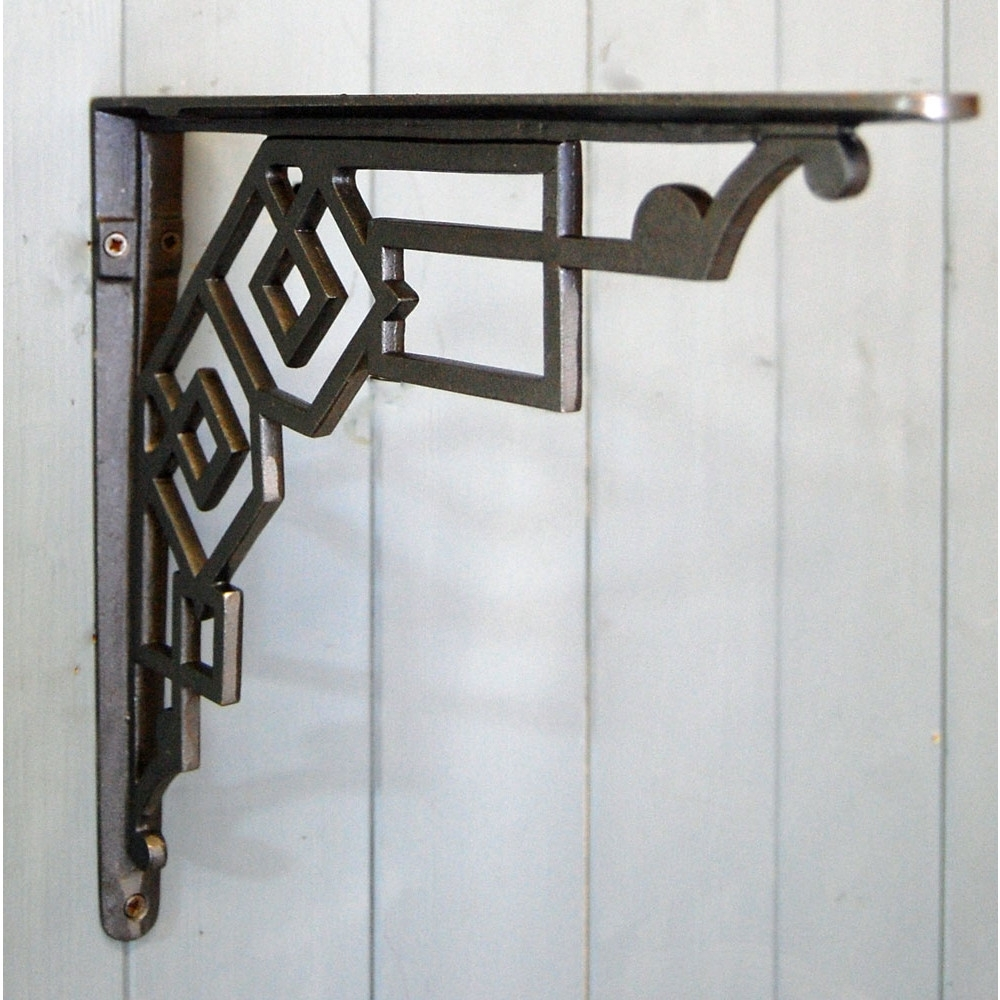 Art Deco Cast Metal Wall And Shelf Bracket Regarding Newest Art Deco Wall Art (View 3 of 20)