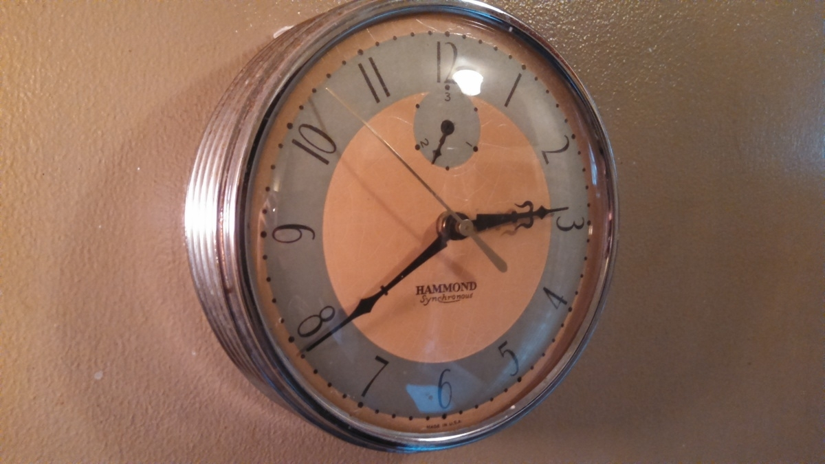 Art Deco Hammond Wall Clock | Collectors Weekly Throughout Most Up To Date Art Deco Wall Clock (View 4 of 20)