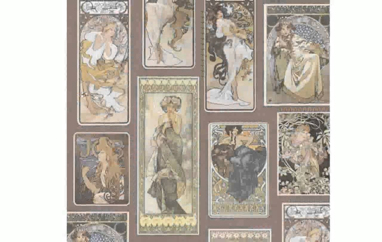 Art Deco Wall Art – Youtube Intended For Best And Newest Art Deco Wall Art (View 7 of 20)