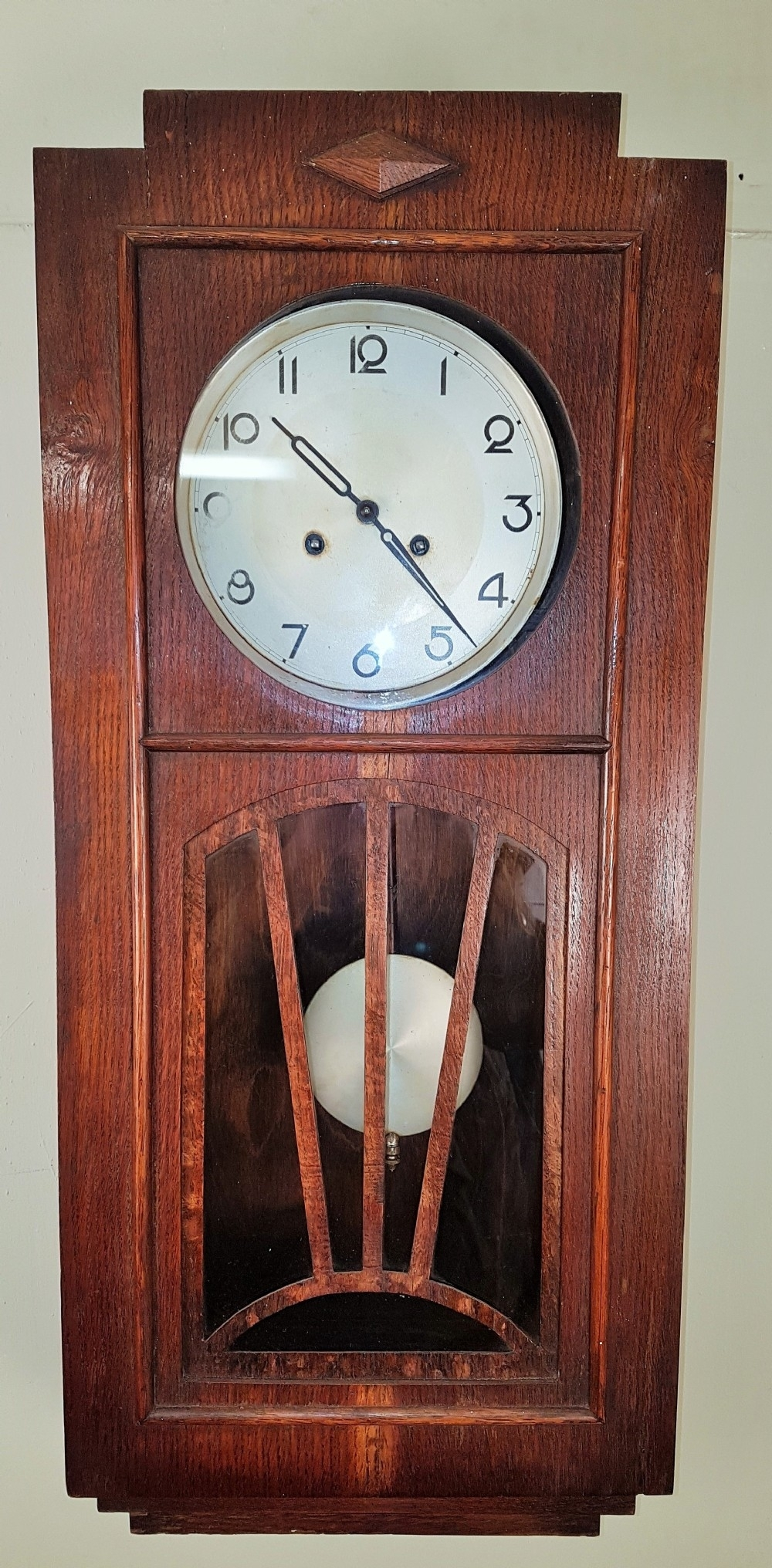 Art Deco Wall Clock | 522025 | Sellingantiques.co (View 16 of 20)