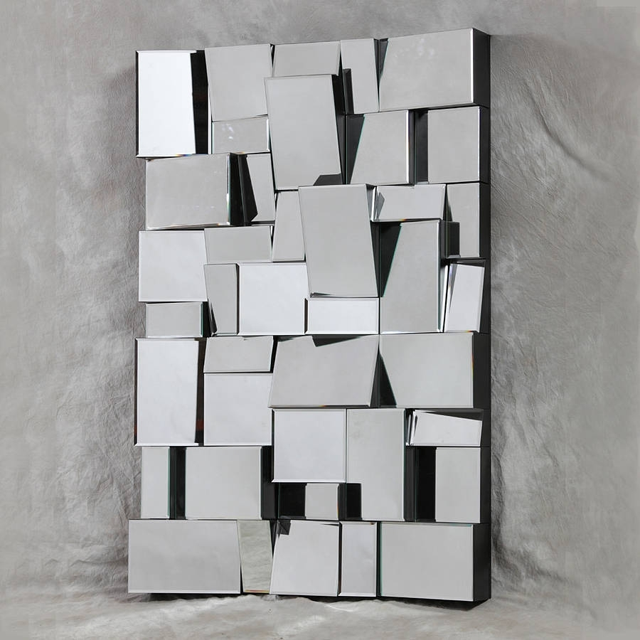 Art Deco Wall Mirror – Interior4You Regarding Most Up To Date Mirror Wall Art (View 2 of 15)