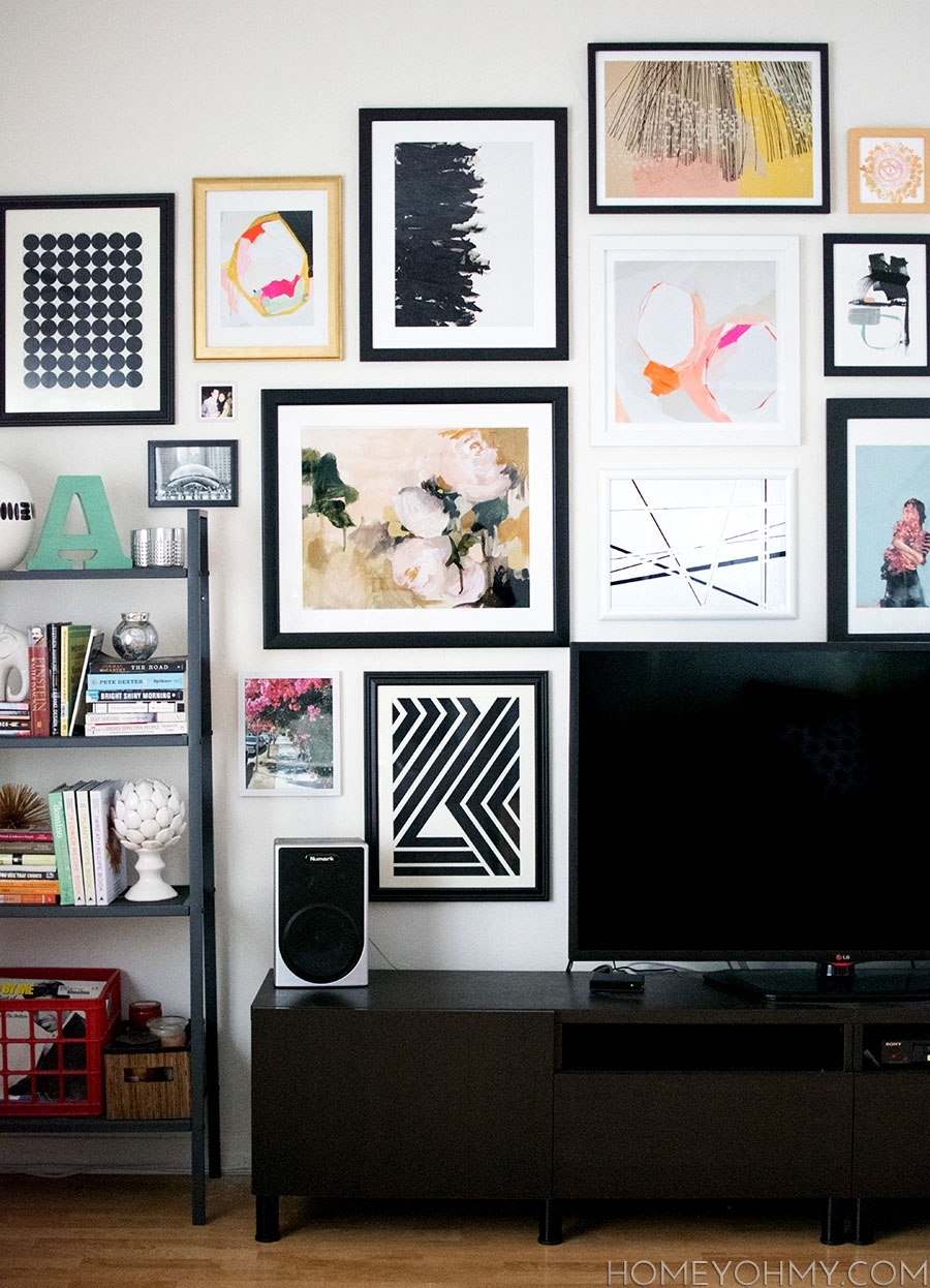 Art Source: Artfully Walls – Homey Oh My Pertaining To Most Current Artfully Walls (View 1 of 15)