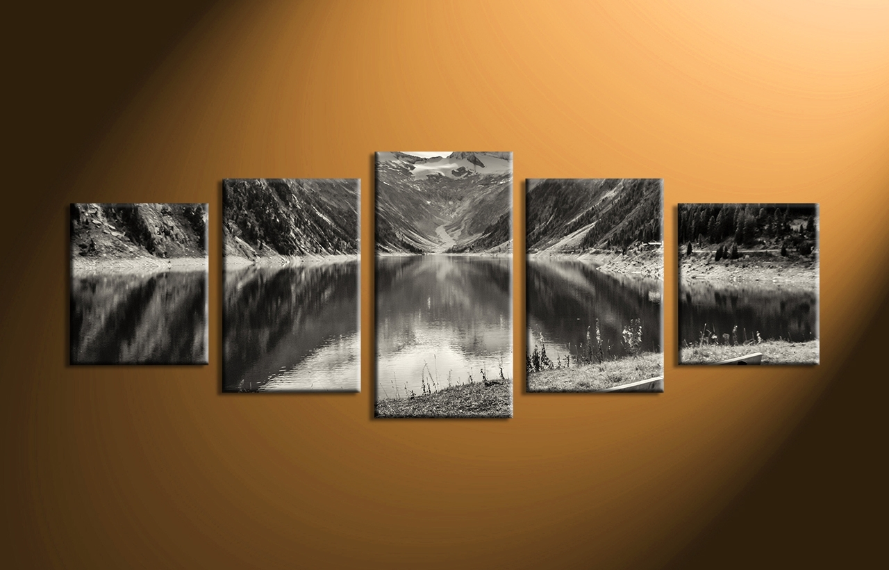 Attractive Design Ideas 5 Piece Wall Art Canvas Home Pictures 2018 Regarding Most Current 5 Piece Canvas Wall Art (View 9 of 20)