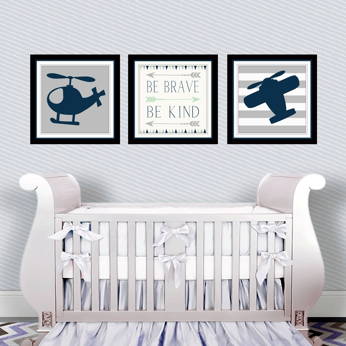 Aviation Nursery Wall Art – Throughout Best And Newest Aviation Wall Art (View 6 of 20)