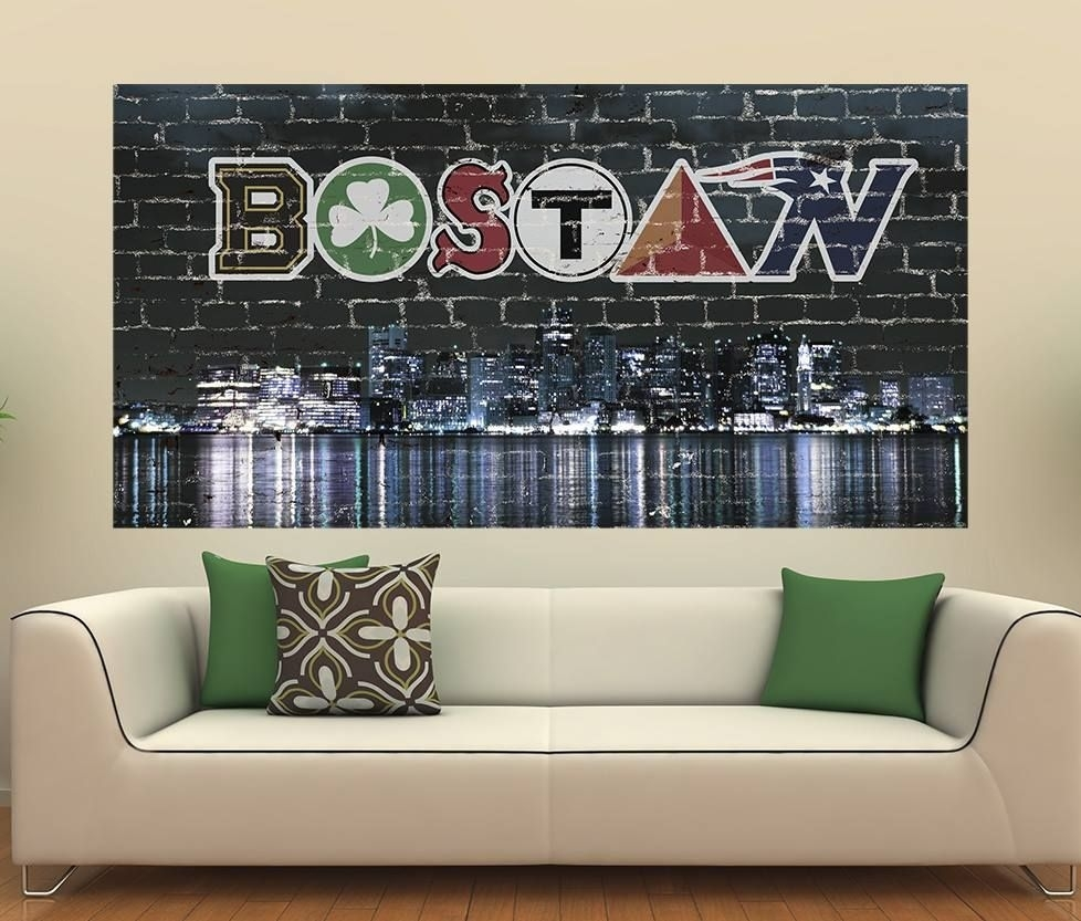 """Awesome Boston Wall Graphic!! Get Yours Here """" Http://www (View 1 of 20)"""