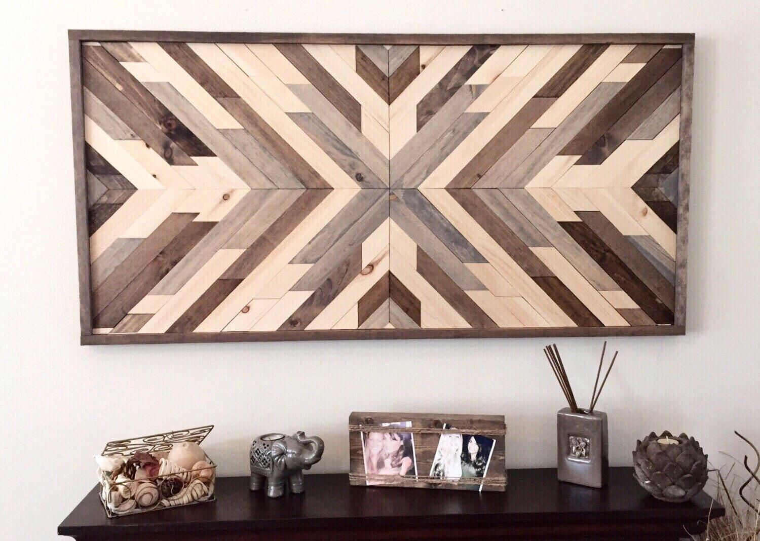 Aztec Room Decor Unique Reclaimed Wood Wall Art Wood Art Wall Decor With Regard To Latest Reclaimed Wood Wall Art (View 11 of 15)