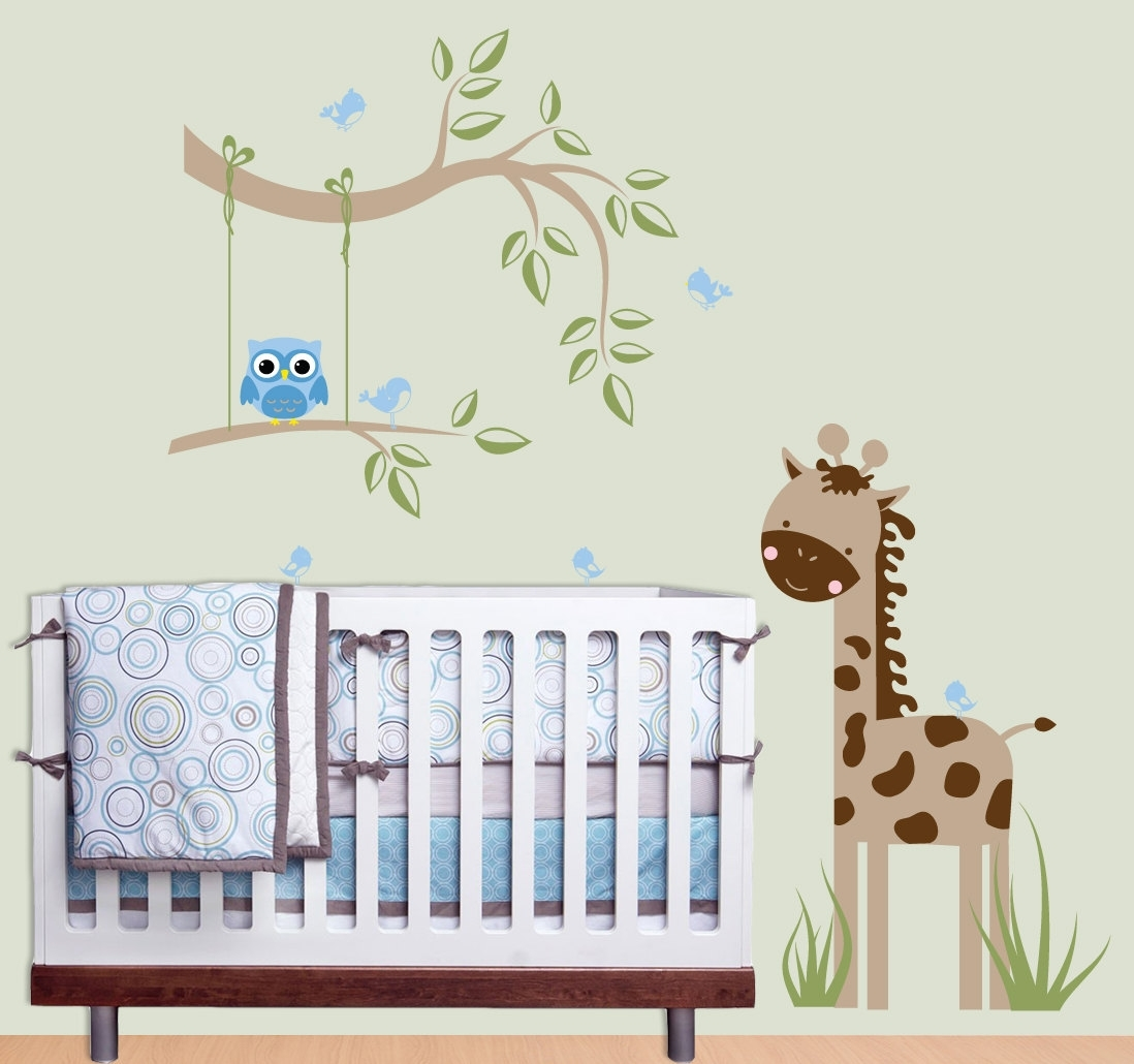 Baby Boy Room Wall Decor – Blogtipsworld Inside Latest Baby Room Wall Art (View 2 of 20)